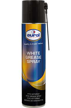 Eurol White Grease Spray with PTFE